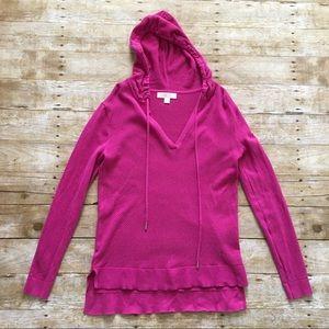 Michael Kors women's mesh hoodie